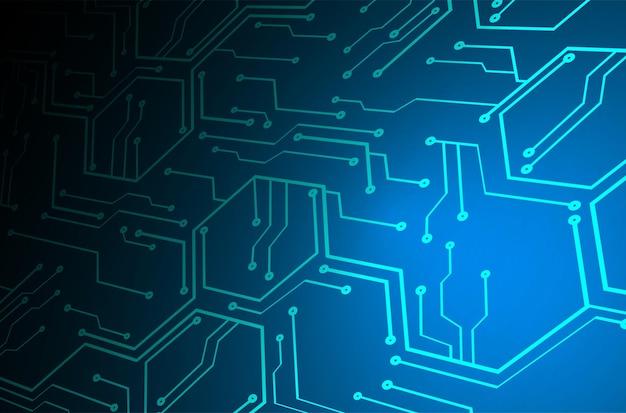 Кибер схема будущей технологии концепции фон