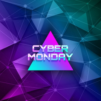 Cyber monday abstract