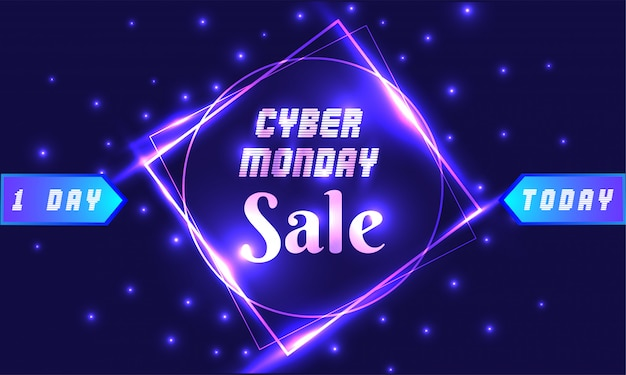 Cyber monday background.