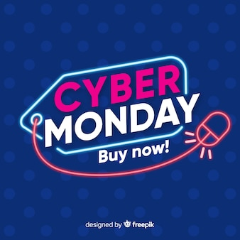 Cyber monday concept making you buy now