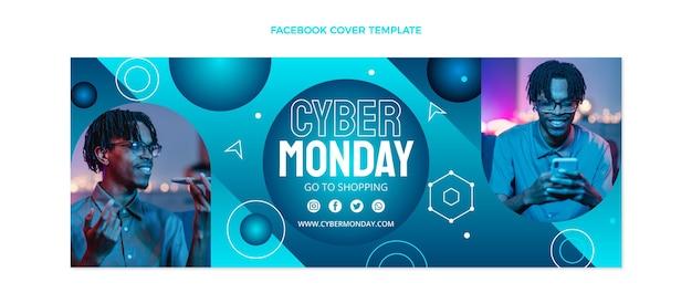 Copertina facebook del cyber lunedì