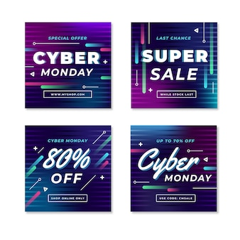 Cyber monday instagram посты