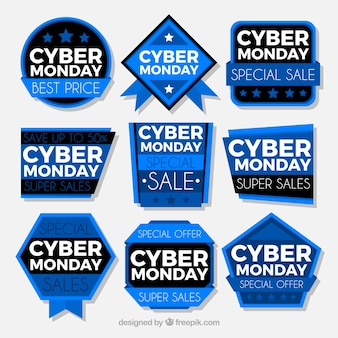 Etichette cyber monday