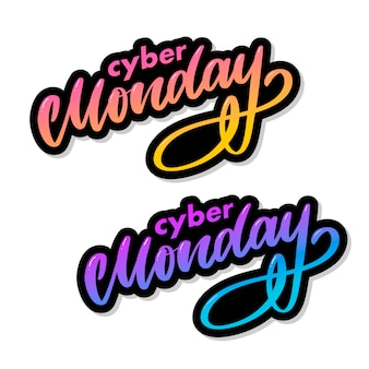 Cyber monday letter. cyber monday sale banner . cyber monday banner . technology background.  event advertising. holiday shopping.