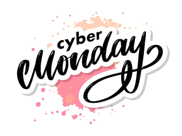Cyber monday letter