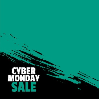 Sfondo elegante di vendita di cyber lunedì per lo shopping online