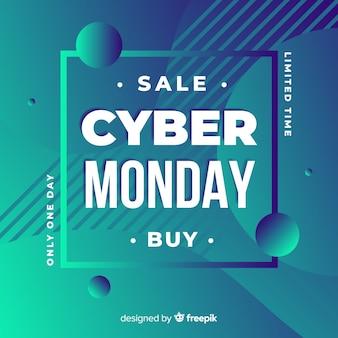 Cyber monday sales background
