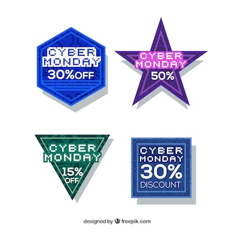 Cyber monday stickers