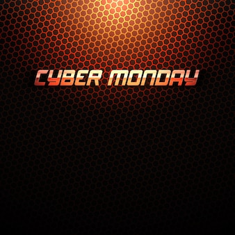 Cyber monday tech  background