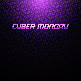 Cyber monday technology abstract background