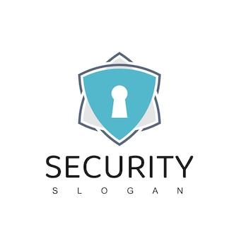 サイバーセキュアロゴデザインテンプレート、データクラウドセキュリティアイコン