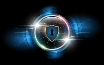 サイバーセキュリティビジネスデータ保護コンセプト技術