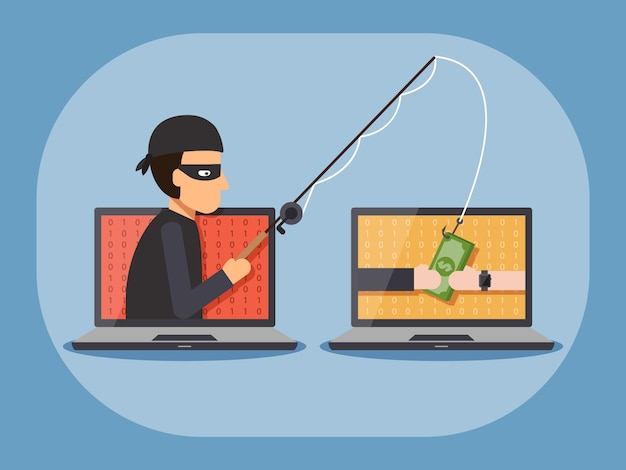 Cyber thief