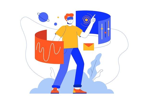 Веб-концепция киберпространства