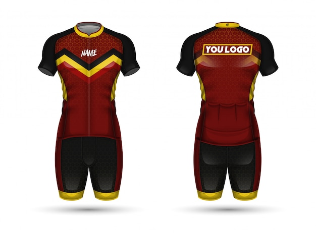 Cycle jersey shirt design