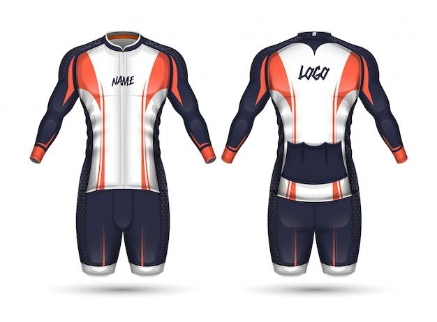 Cycle jersey shirt design