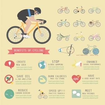자전거 infographic 템플릿