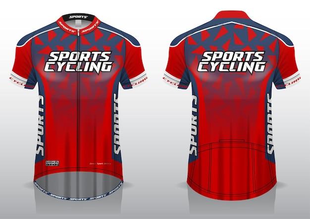 Джерси для велоспорта, вид спереди и сзади, спортивный дизайн, готов к печати на ткани и текслите