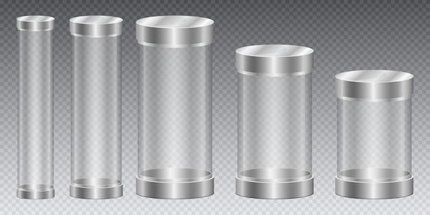 Cylinder capsule   design illustration isolated