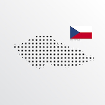 Czech republic map design