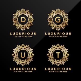 D, g, u, t luxury letter logo