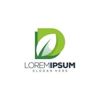 D leaf logo