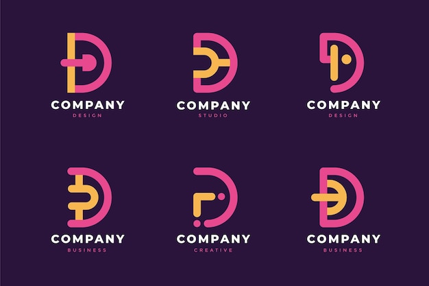 D logo collection