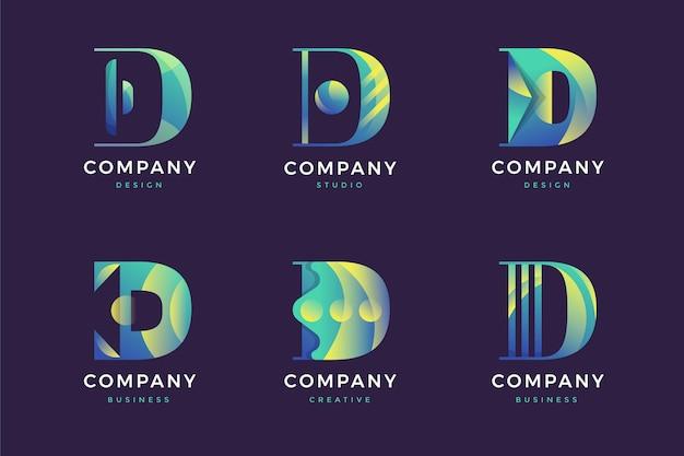 Коллекция логотипов d