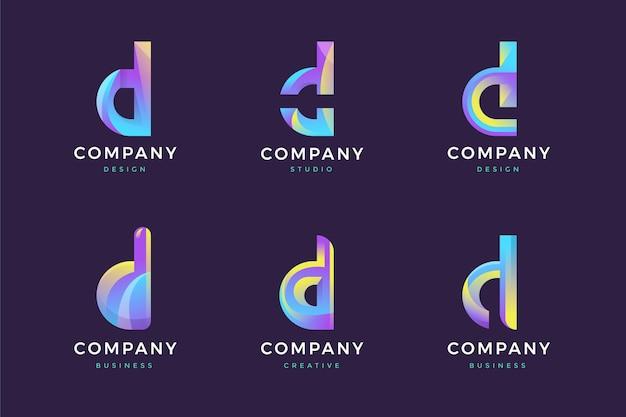 D 로고 컬렉션
