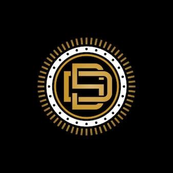Логотип монограммы d & s