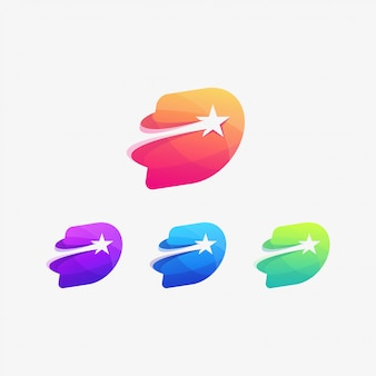 D star логотип качество письма