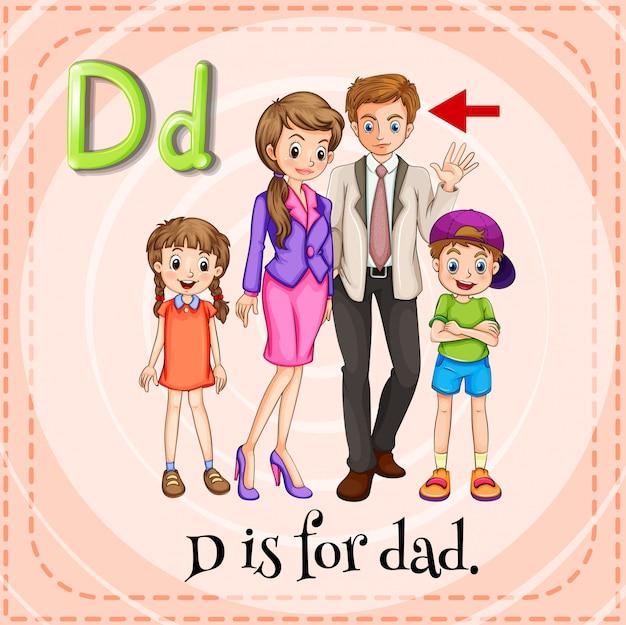 Буква d