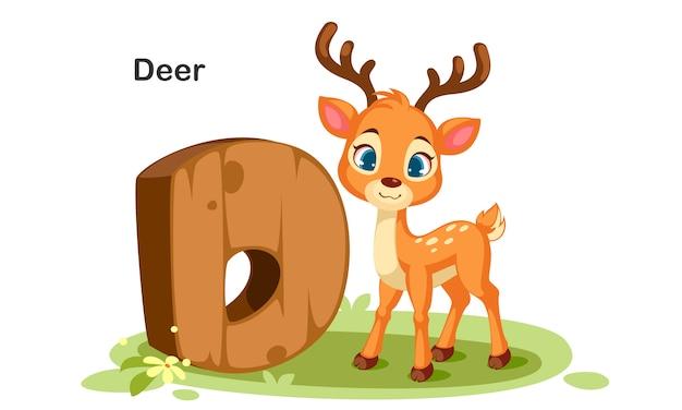鹿のためのd