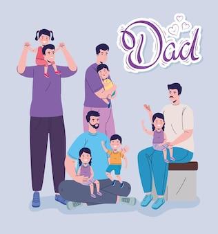 Daddies and kids