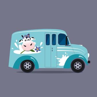 乳製品配送サービス