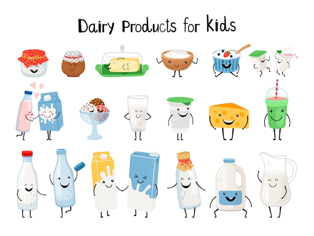 Dairy products for kids