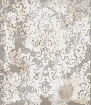 Damask ornament pattern