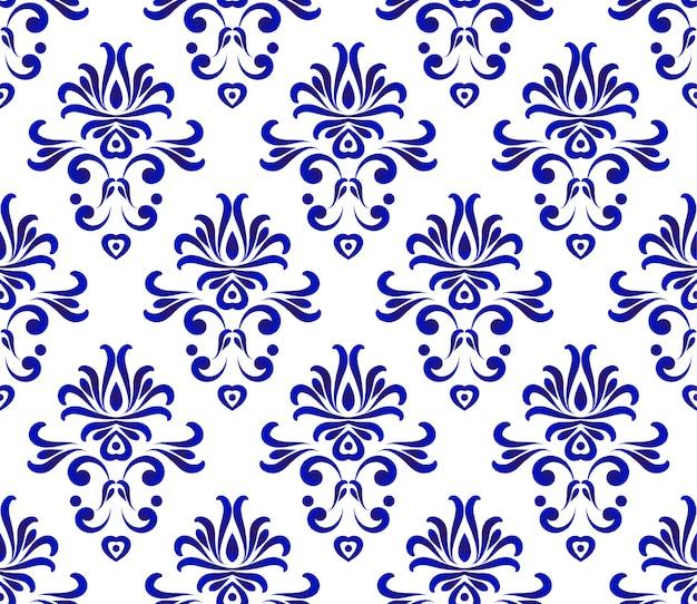 Damask pattern seamlesss