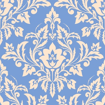 Damask seamless illustration