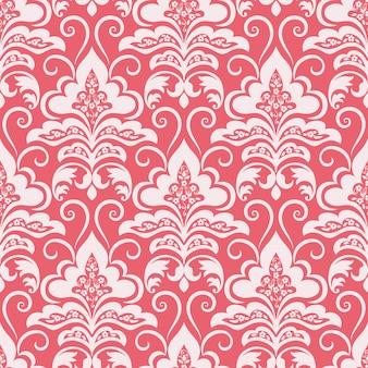 Damask seamless pattern background. classical luxury old fashioned damask ornament