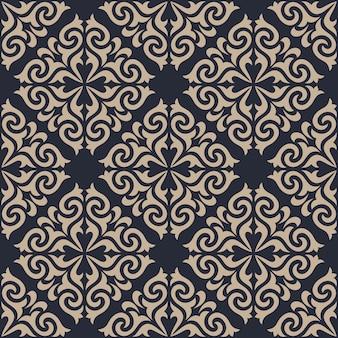 다 완벽 한 패턴 배경입니다. 클래식 럭셔리 장식 벽지.