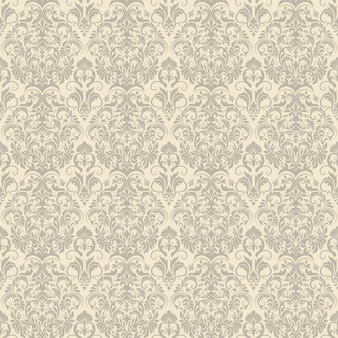Damask seamless pattern background
