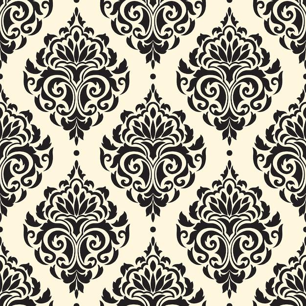 damask vectors photos and psd files free download rh freepik com damask wallpaper pattern vector floral damask pattern vector