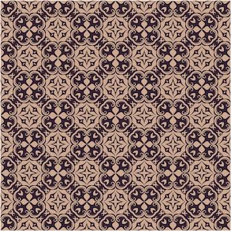 ダマスク織のシームレスなパターンの背景。古典的な豪華な昔ながらのバロック様式の装飾品