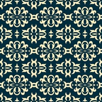 클래식 럭셔리 장식으로 다 마스크 완벽 한 패턴