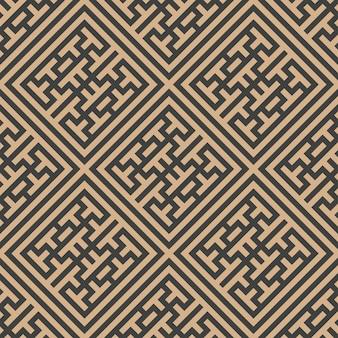 다 완벽 한 복고풍 패턴 배경 체크 사각형 형상 크로스 격자 프레임 트레이 서 리 라인.