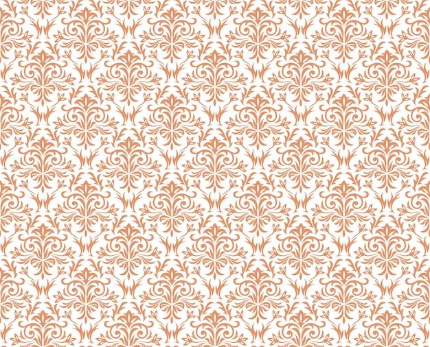 다 마스크 빈티지 완벽 한 패턴, 벡터 일러스트 레이 션입니다. 수평 및 수직 반복