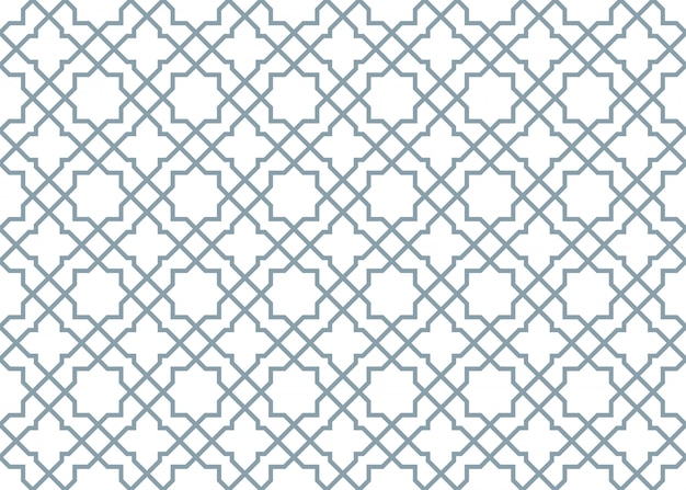 Damask vintage seamless patterns, vector illustration. horizontally and vertically repeata