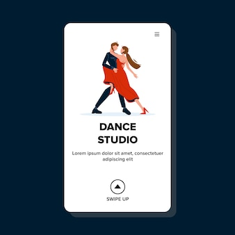Dance studio for exercising and repetition
