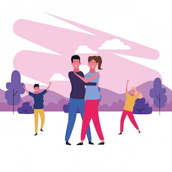 Dancing couple avatar